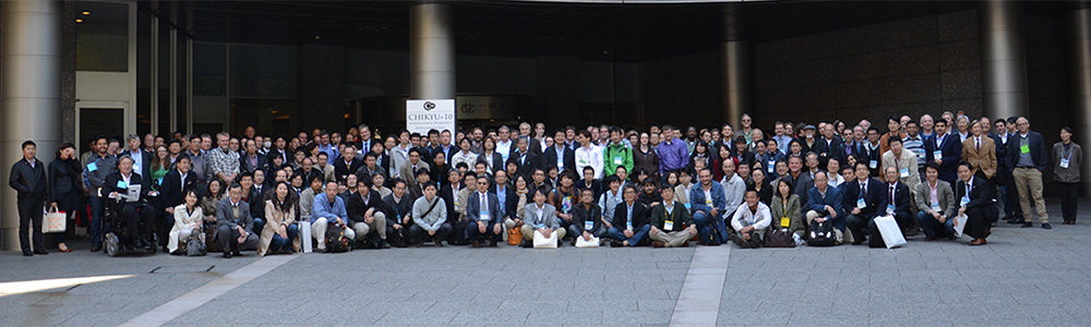 More than 400 people came from all over the world to gather in Tokyo to talk about the future of Chikyu! These are the cheerleaders for future Chikyu operations